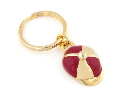 Derby Cap Key Ring. Made in the USA.