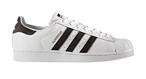 Scarpe adidas Superstar Uomo Bianco Ginnastica Basse da w7xFxz1