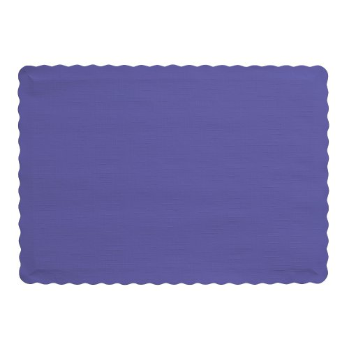 Creative Converting Count Placemats Purple