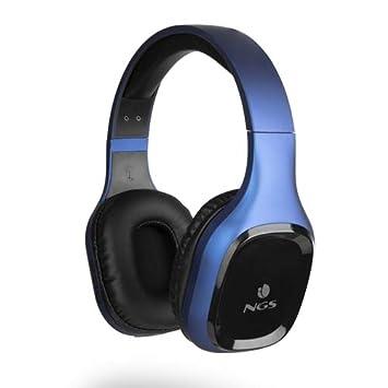 NGS Artica Sloth Blue - Auriculares inalámbricos compatibles con ...