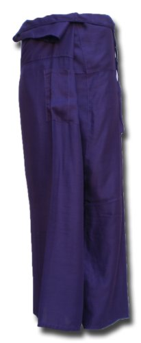 Fisherpant Fisherman Pant ** PURPLE ** Pants Yoga Wrap Sport Thailand Thai Long by Original from einfachklever