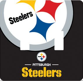 Pittsburgh Steelers Peel-N-Stick Light Switch (Double) Cover