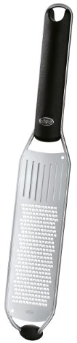 Rosle Spice - Rösle Stainless Steel Fine Grater, Silicone Handle, 13-inch