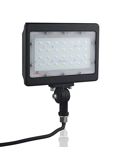 50 Watt LED Flood Light - Kivo Series - LED Flood Lights - 6,000 Lumens - 50 Watt LED Flood Light - 5000K - Knuckle Mount/Conduit Style Flood Light