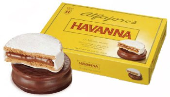Havanna Alfajor Mixtos 306 Grams (6 Alfajores)