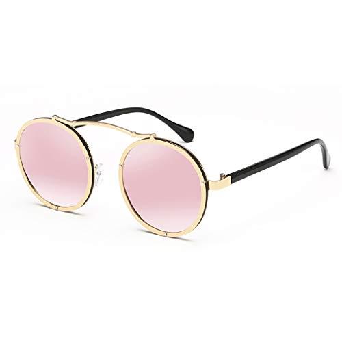 Des soleil F Round de Paragraphe Star Soleil Marque de de Femme F Retro Couleur Sport Lunettes Le avec Tide même coréenne Nouvelles lunettes qEw1rHxWE
