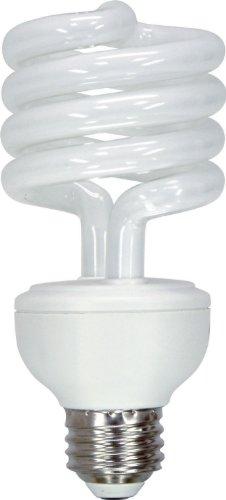 GE Lighting 37039 Energy Smart CFL 23-watt 1620-Lumen T2 Spiral Light Bulb with Medium Base, 1-Pack -