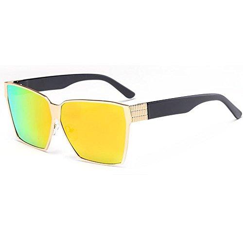 Moda al UV Unisex la Aire Playa para Gafas Adulto Viajando tamaño protección Proteccion Libre de Gran de Ojos de Tonos Sol Lentes Sol conducción la de Verano de C2 C7 Color coloreadas de de 51xU6