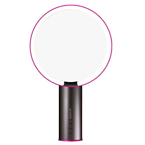Amiro 8 inch Smart Lighted Vanity Makeup Mirror with Brightness Control and Motion - Mirror Motion