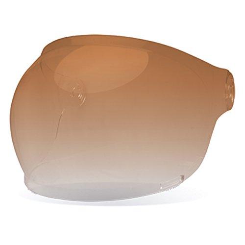 Bell Bullitt Bubble Shield - Amber Gradient - Black Tab by Bell