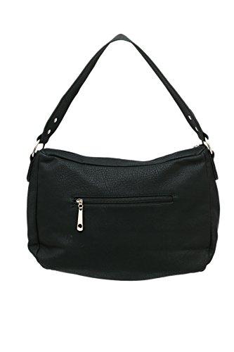 shoppers señoras Airee y hombro de mujer Negro por bolso Fairee bolsos bandolera Las OEq6RO
