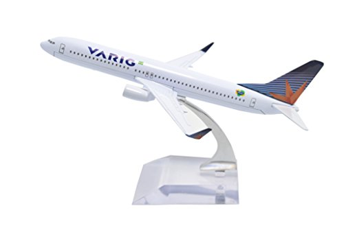 B737 Nose (TANG DYNASTY(TM) 1:400 16cm Boeing B737-800 Varig Brazilian Airlines Metal Airplane Model Plane Toy Plane Model)