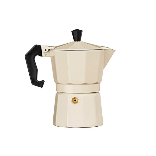 Premier Housewares 3 Cup Espresso Maker - Cream