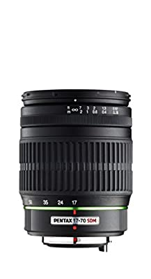 Pentax 17-70mm f/4 DA SMC AL IF SDM Lens for Pentax Digital SLR Cameras by Pentax