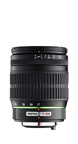 (Pentax 17-70mm f/4 DA SMC AL IF SDM Lens for Pentax Digital SLR Cameras)