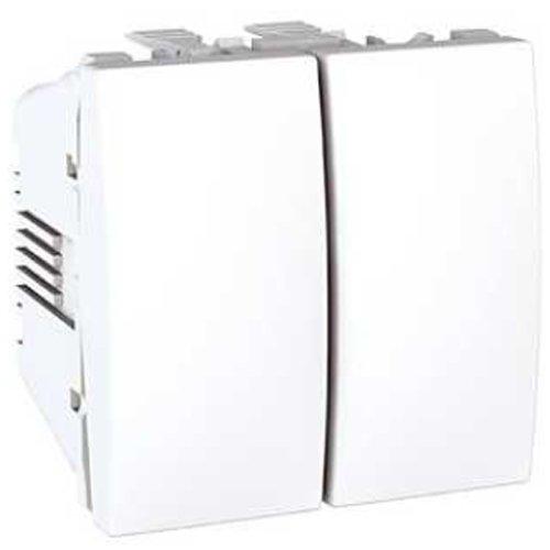 Schneider Electric U3.211.18 Doble Interruptor 10A Polar PPM - PMU 10 12