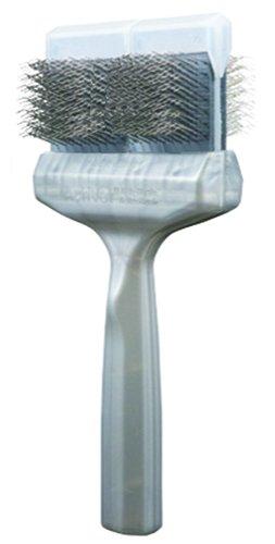 ActiVet Silver Firm Coatgrabber German Grooming Brush 9.0 cm by ActiVet