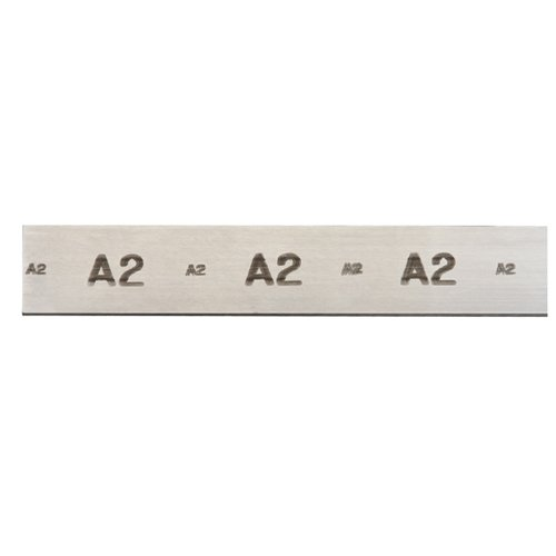 STARRETT A2 Air Hardening Oversized Flat Stock - Thickness: 1/4' Width: 1-1/2' Length: 18' Precision Ground: #499 Squareness Edge: 0.003' Per Inch