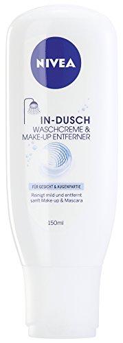 Nivea In-Dusch Make Up Entferner 150 ml, 4er Pack (4 x 150 ml)