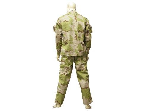 BE-X BDU Feldjacke mit 4 Taschen & Klettflächen, 35/65 NyCo - 3C desert