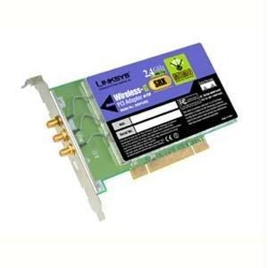 Cisco-Linksys WMP54GX Wireless G PCI Adapter with SRX by Linksys