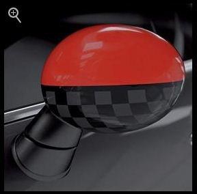 Compare Price Mini Cooper Mirror Caps Red On
