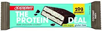 Enervit - Protein Deal Bar 25 x 55g Riegel Coconut