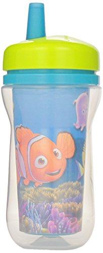 The First Years Insulated Straw Cup - Finding Nemo - 9 oz