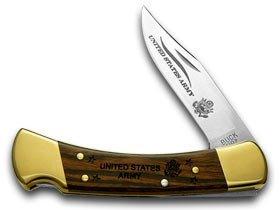 BUCK 110 Folding Hunter Army 1/100 Pocket Knife Knives, Outdoor Stuffs