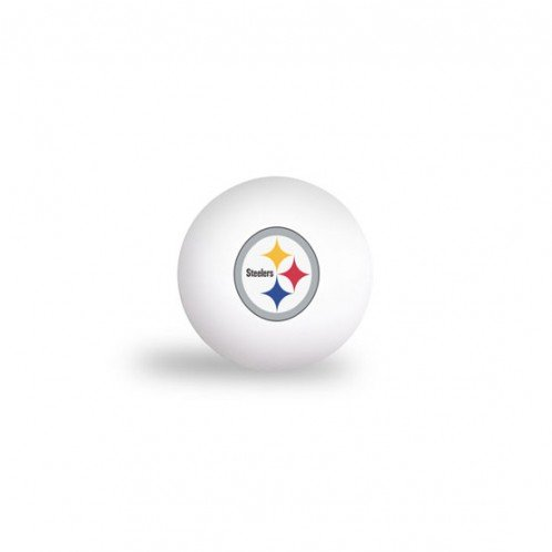 PITTSBURGH STEELERS PING PONG BALLS - 6 PACK by WSE