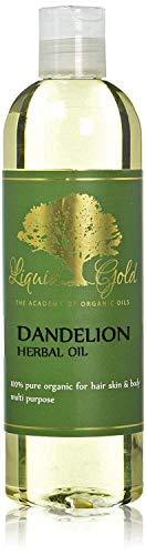 12 fl.oz Premium Liquid Gold Dandelion Herbal Oil Pure & Organic Skin Hair Nails Health