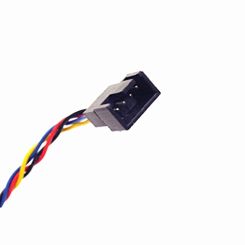 low price temperament shoes cheapest price Pocaton 5Pin Female to 4Pin Male Socket Connector Jack PWM Cooling Fan  Power Cable for DELL PC