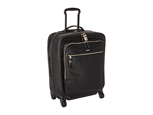 TUMI - Voyageur Tres Léger Continental Carry-On Luggage - 22 Inch Rolling Suitcase for Men and Women - Black