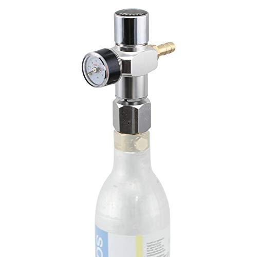 Keg Charger Co2 Refill Cartridges - Micro CO2 Mini Regulator Keg Charger for Soda CO2 Tanks (0-30 PSI)