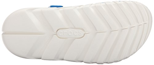 Crocs Duet Sport Max - Zoccoli Unisex Adulti Blu (Ocean/White)