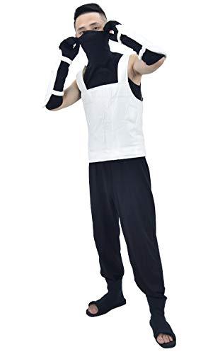 Black Ops Costumes (DAZCOS US Size Adult Hatake Kakashi Anbu Vest Cosplay Costume (Men Medium))