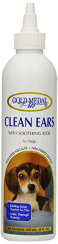 Gold Medal Pets Clean Ears for Dogs and Cats, 8-Ounce