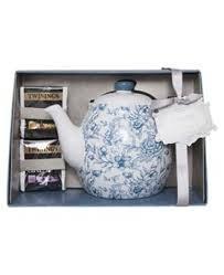 Twinings Ceramic Tea Pot Gift Set: Amazon.co.uk: Kitchen & Home