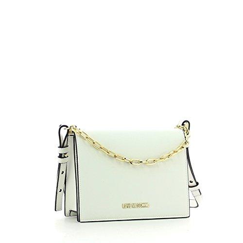 Moschino Cross Bianco Femme Love Handbag Noir Body Uq7c6wf