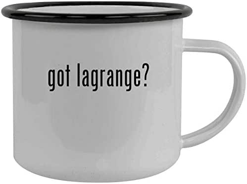 got lagrange? - Stainless Steel 12oz Camping Mug, Black