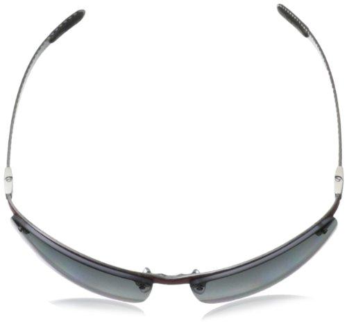 Ray-Ban 8305 142/T3 Gafas de sol, Polarizadas, 64, Negro (Nero)