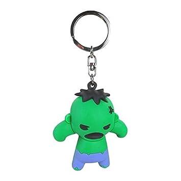 Monogram Marvel Llavero Figura 3D Hulk - Collectors Keyring ...