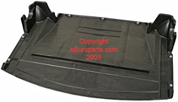 BMW E46 Undercar Shield Center Splash Guard engine protection 51718268344