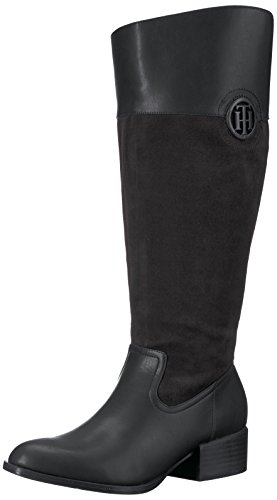 Black Wc Madeln Women's Equestrian Tommy Hilfiger Boot black qYUHpp