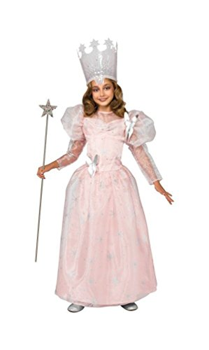 Good Character Costumes (Deluxe Glinda the Good Witch Child Costume - Large)