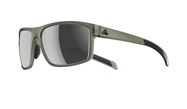 adidas Gafas de Sol WHIPSTART A423 MATTE GREEN/CHROME MIRROR ...