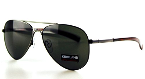 Kirkland Signature Men's Sunglasses Polarized Anti-Reflective, 2017 - Aviator Model Sunglasses