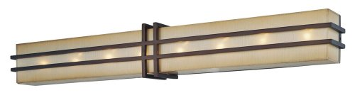 N2958-267B Walt Disney Signature Underscore 8 Light Bath Light by Minka Lighting by Minka Lighting
