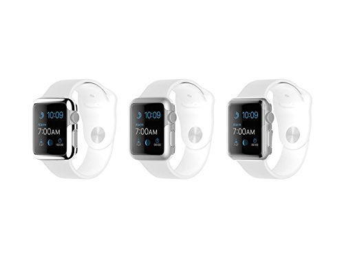 3 Pack Ultra Thin Protective Cases for Apple Watch 38mm, Silver, Grey, Clear