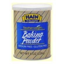 Featherweight Baking Powder, 8 Ounce - 6 per case.
